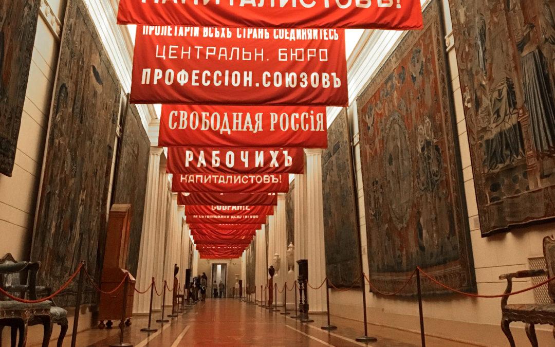 Geschiedenis in de Russische Hermitage, vormgegeven door een Nederlander