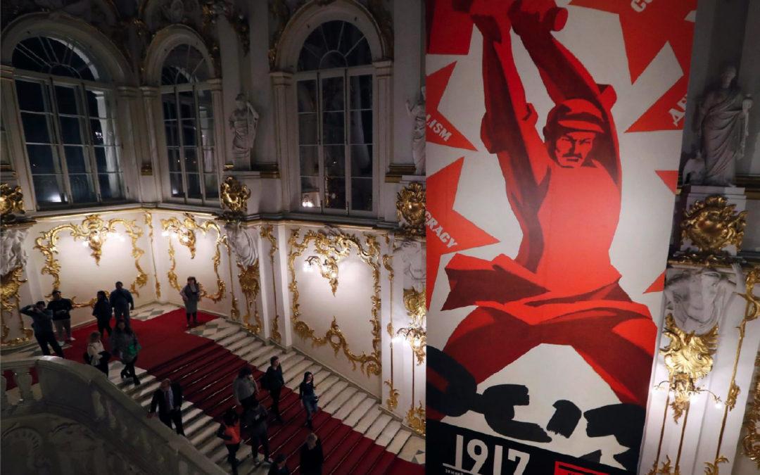 Hollandse trots in Hermitage Sint-Petersburg Rusland