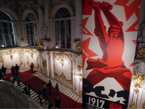 1917. The Hermitage and the Winter Palace. History was made Here