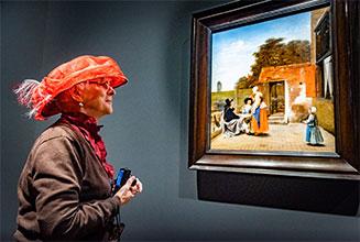 'Delftse' Pieter de Hooch één keer uit de schaduw van Vermeer